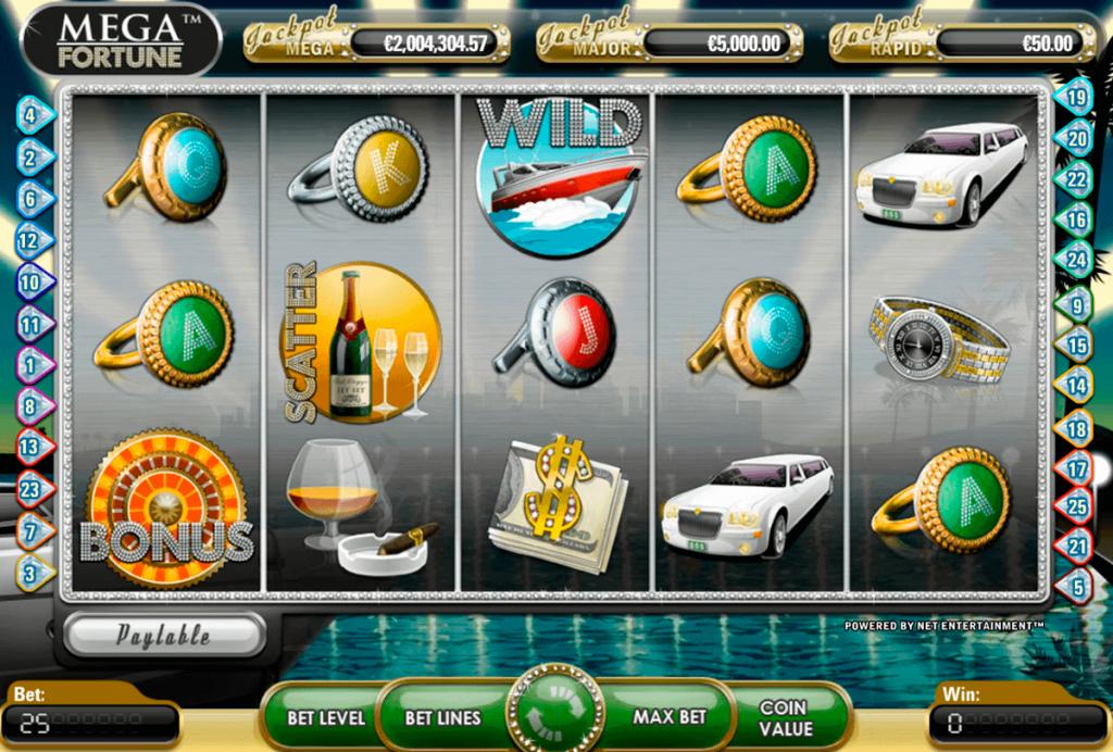 Mega Fortune - NetEnts riesiger Jackpot