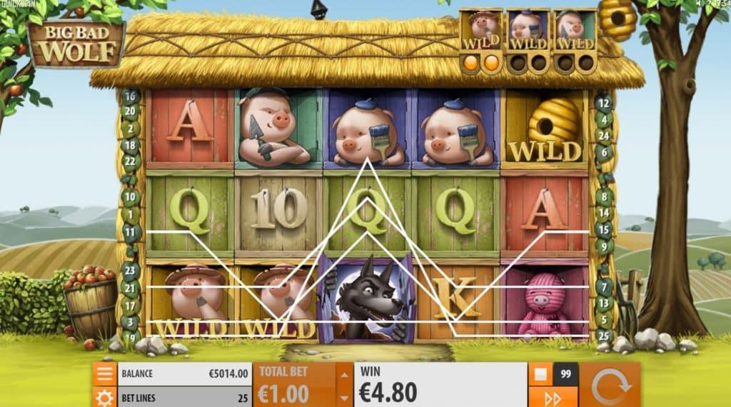 Big Bad Wolf - Spielautomat von Quickspin